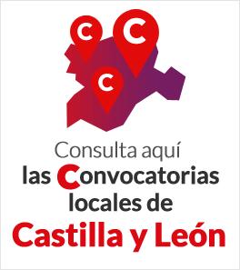 Consulta aquí las convocatoria locales de Castilla y León