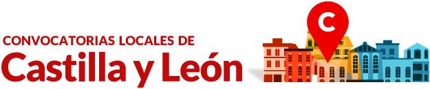Convocatorias locales de Castilla y León